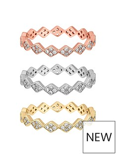 jon-richard-cubic-zirconia-interlock-stacking-rings