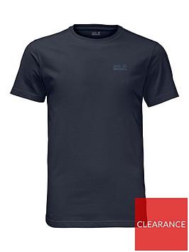 jack-wolfskin-essential-t-shirt-navynbsp