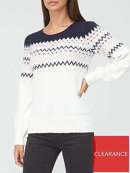 v-by-very-embellished-fairisle-jumper-whitepink