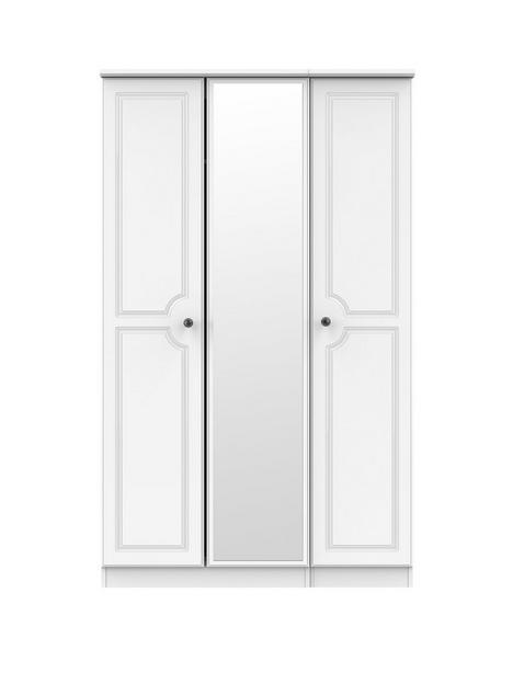 swift-clarence-part-assembled-3-door-centre-mirror-wardrobe