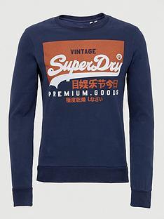 superdry-superdry-vintage-label-orange-label-crew-sweatshirt