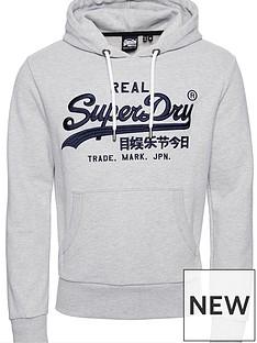 superdry-vintage-label-mono-hoodie-grey-marl