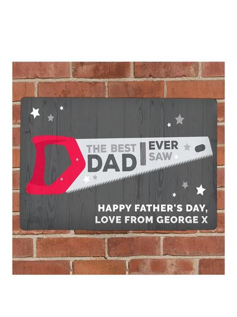the-personalised-memento-company-personalised-the-best-dad-inbspever-saw-metalnbspplaque