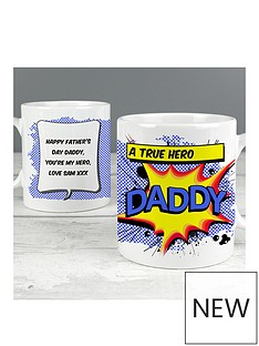 personalised-daddy-comic-book-mug