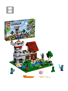 lego-minecraft-21161-the-crafting-box-30-with-steve-alex-and-creeper