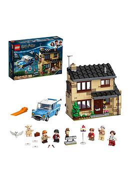 Lego Harry Potter 75968 4 Privet Drive With Ford Anglia Car  The Dursleys