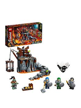 Lego Ninjago 71717 Journey To The Skull Dungeon 2In1 Build  Board Game