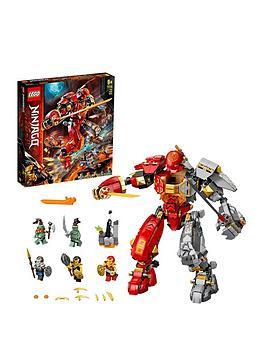 Lego Ninjago 71720 Fire Stone Mech Ninja Action Figure