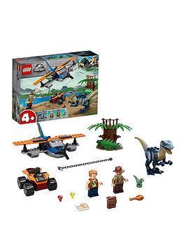 lego-jurassic-world-75942-velociraptor-biplane-dinosaur-rescue-mission