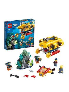 LEGO City 60264 Ocean Exploration Submarine Underwater Adventure Best Price, Cheapest Prices
