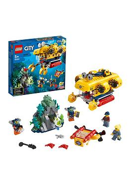 Lego City 60264 Ocean Exploration Submarine Underwater Adventure
