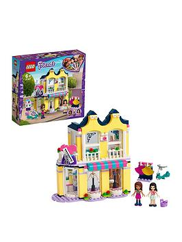 Lego Friends 41427 Emma'S Fashion Shop Accessories Store Best Price, Cheapest Prices