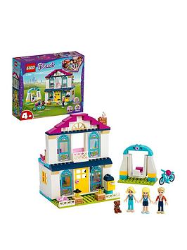 Lego Friends 41398 4+ Stephanie'S House Doll House With Family Figures Best Price, Cheapest Prices