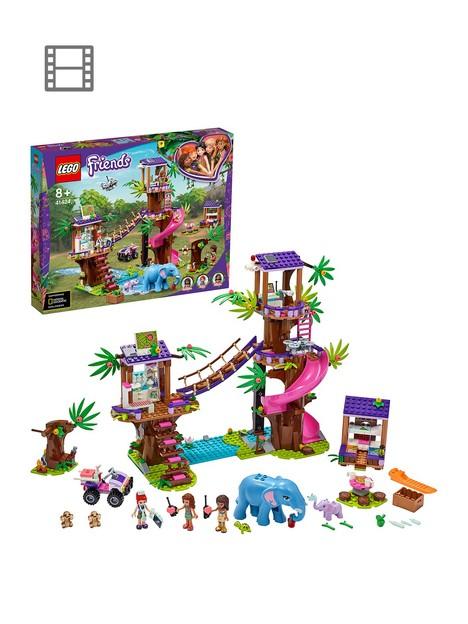 lego-friends-41424-jungle-rescue-base-treehouse-animals-vet-clinic
