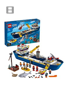 LEGO City 60266 Ocean Exploration Ship Floating Deep Sea Boat Model Best Price, Cheapest Prices