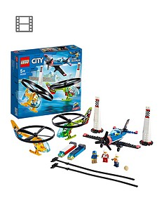 LEGO City 60260 Airport Air Race Plane & Helicopters Best Price, Cheapest Prices