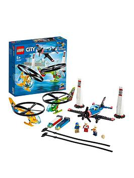 Lego City 60260 Airport Air Race Plane  Helicopters