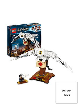 lego-harry-potter-75979-hedwig-display-model-with-moving-wings