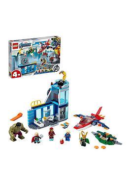 Lego Super Heroes 76152 Avengers Super Heroes Wrath Of Loki With Iron Man