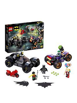 Lego Super Heroes 76159 Super Heroes Batman Joker'S Trike Batmobile Chase