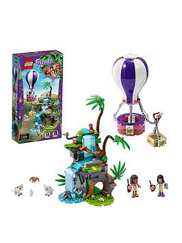 Lego Friends 41423 Tiger Hot Air Balloon Jungle Rescue Adventure Best Price, Cheapest Prices