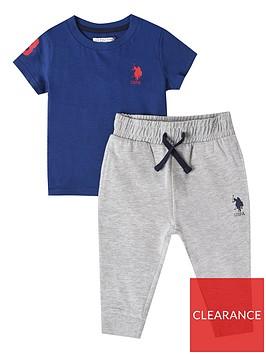 us-polo-assn-baby-boys-player-3-tee-and-jogger-set-blue