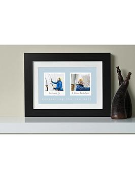 virgin-experience-days-personalised-remember-the-days-two-image-framed-wall-art