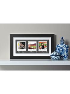 virgin-experience-days-personalised-remember-the-days-three-image-framed-wall-art