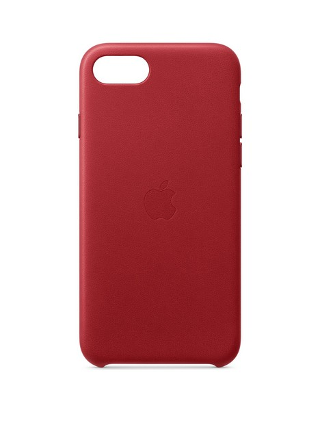 apple-iphonenbspse-leather-case-red