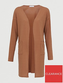 v-by-very-slouchy-rib-lounge-cardigan-camel