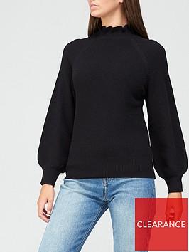 v-by-very-frill-high-neck-jumper-black