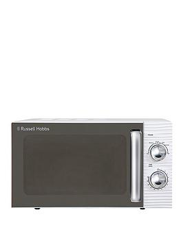 Russell Hobbs Rhm1731 Inspire White Compact Manual Microwave