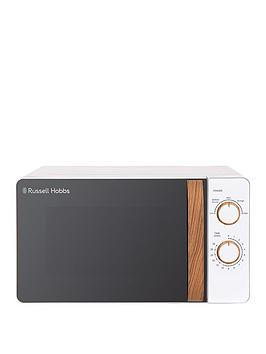Russell Hobbs Rhmm713 Scandi Compact White Manual Microwave