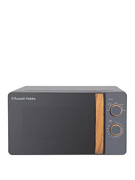 Russell Hobbs Rhmm713G Scandi Compact Grey Manual Microwave