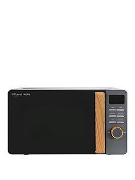 Russell Hobbs Rhmd714G Scandi Grey Digital Microwave