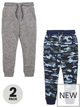 v-by-very-boys-2-pack-joggers-camouflage