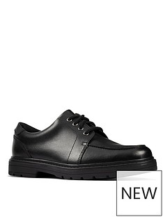 clarks-youth-loxham-pace-lace-up-school-shoe-black
