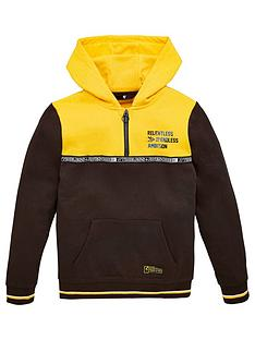 v-by-very-boys-colour-block-half-zip-sweat-top-mustard