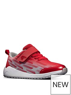clarks-boysnbspaeon-pace-lace-trainer-red-grey