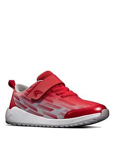 clarks-kidnbspaeon-pace-lace-trainer-redgrey