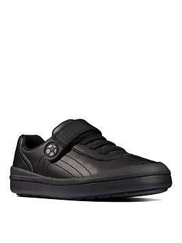 clarks-toddlernbsprock-pass-school-shoe-black