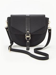 v-by-very-palace-saddle-bag-black