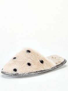 v-by-very-wileen-spotted-fauxnbspfur-mule-slippers-cream
