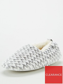 v-by-very-bethany-fauxnbspfurnbspslippers-grey