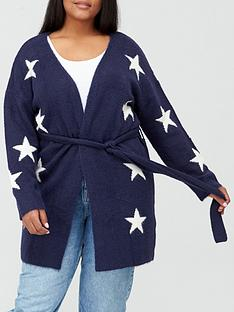 v-by-very-curve-star-knitted-cardigan-navy-ivory