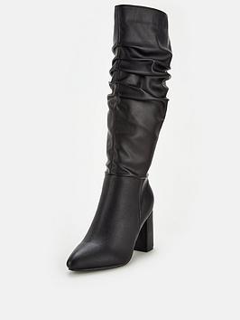 v-by-very-tesla-block-heel-slouch-knee-boot-black