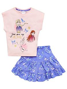 disney-frozen-girlsnbsptop-and-skirt-set-pink-blue