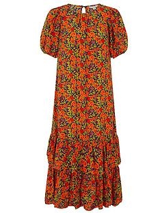 monsoon-romana-tiered-hem-midi-dress-orange