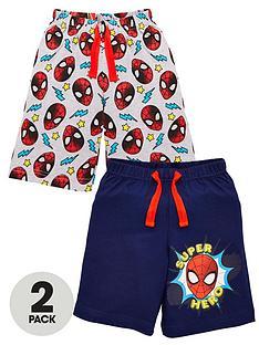 spiderman-boysnbsp2-pack-tie-waist-shorts-multi