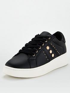 v-by-very-abbey-stud-trim-trainers-black